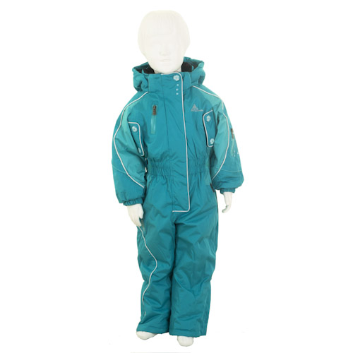 peak mountain combinaison de ski fille 3 8 ans fiski turquoise. Black Bedroom Furniture Sets. Home Design Ideas