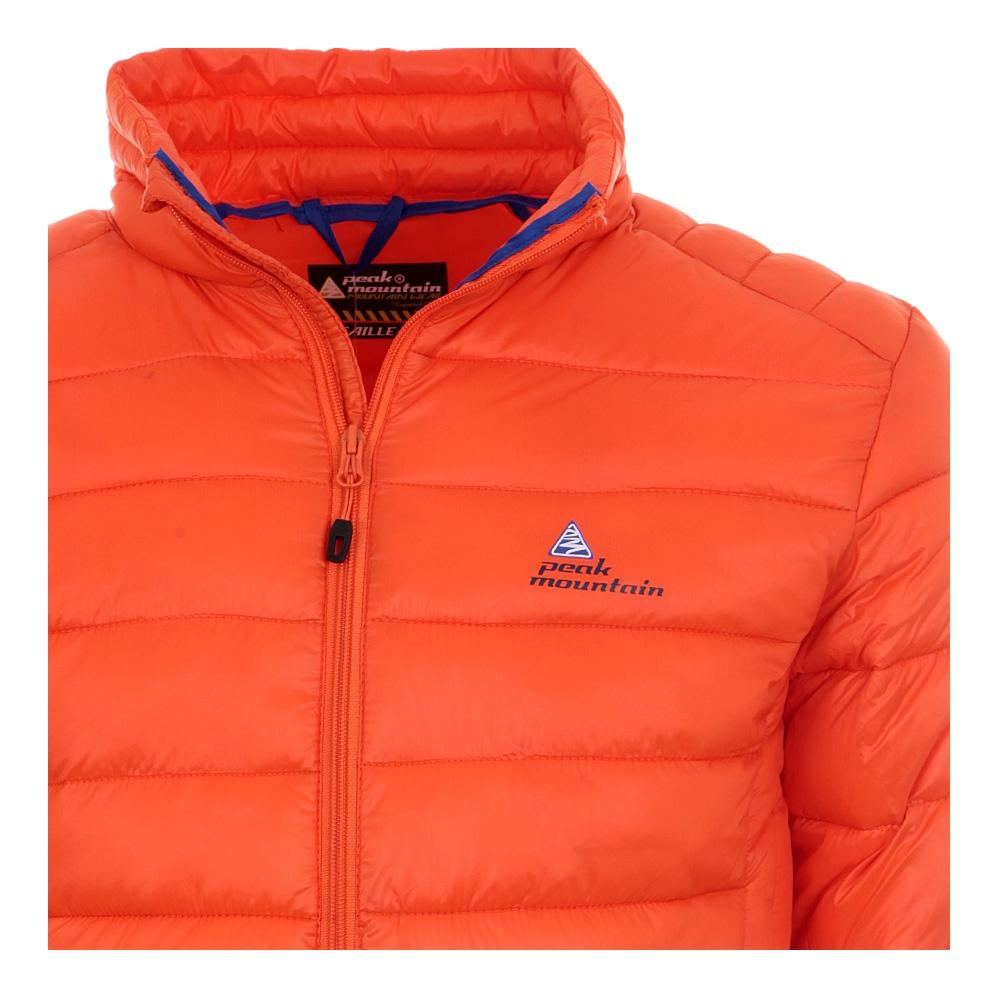 doudoune l g re homme ceking couleur orange peak mountain. Black Bedroom Furniture Sets. Home Design Ideas