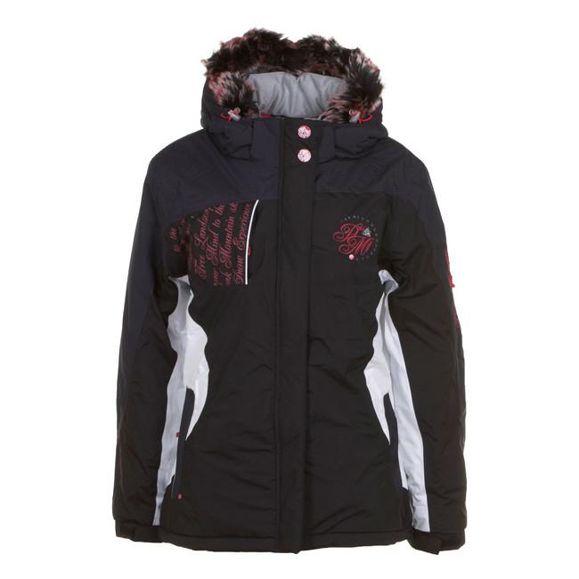 peak mountain blouson de ski femme alaza noir achat et vente. Black Bedroom Furniture Sets. Home Design Ideas
