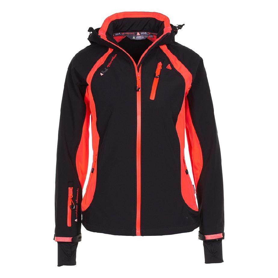 peak mountain blouson de ski femme avybo noir orange. Black Bedroom Furniture Sets. Home Design Ideas