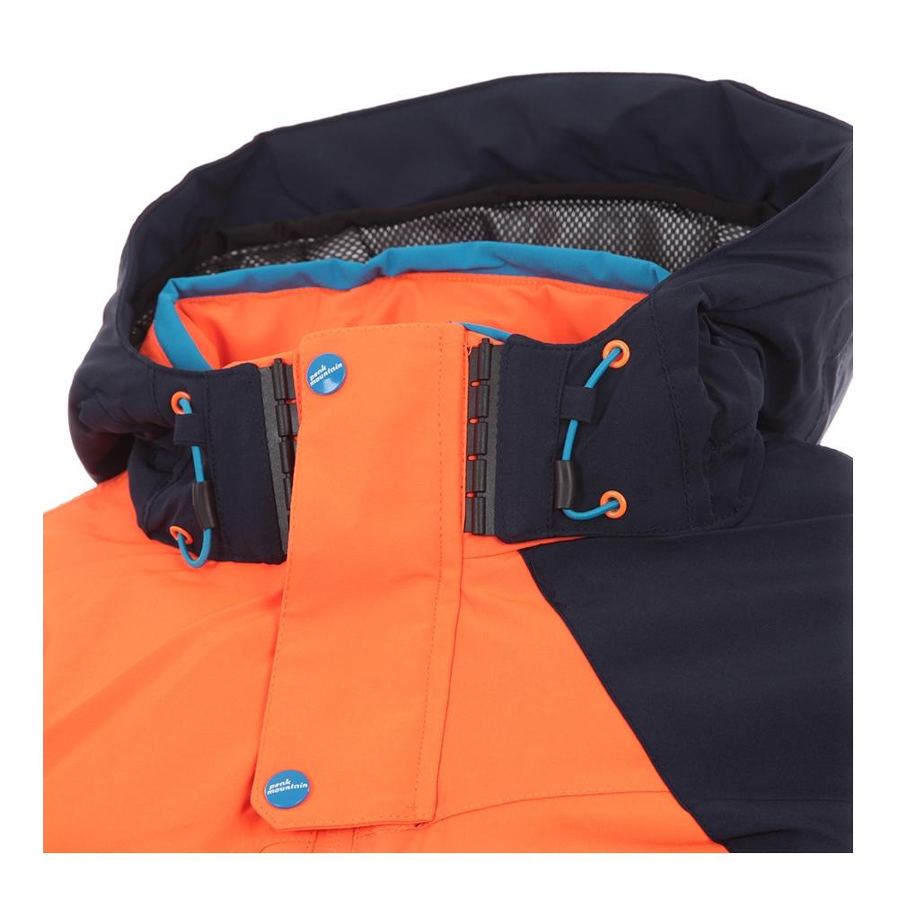 Achat Calis Et Peak Mountain Ski De Blouson Vente Orange Homme CCHqwAZ