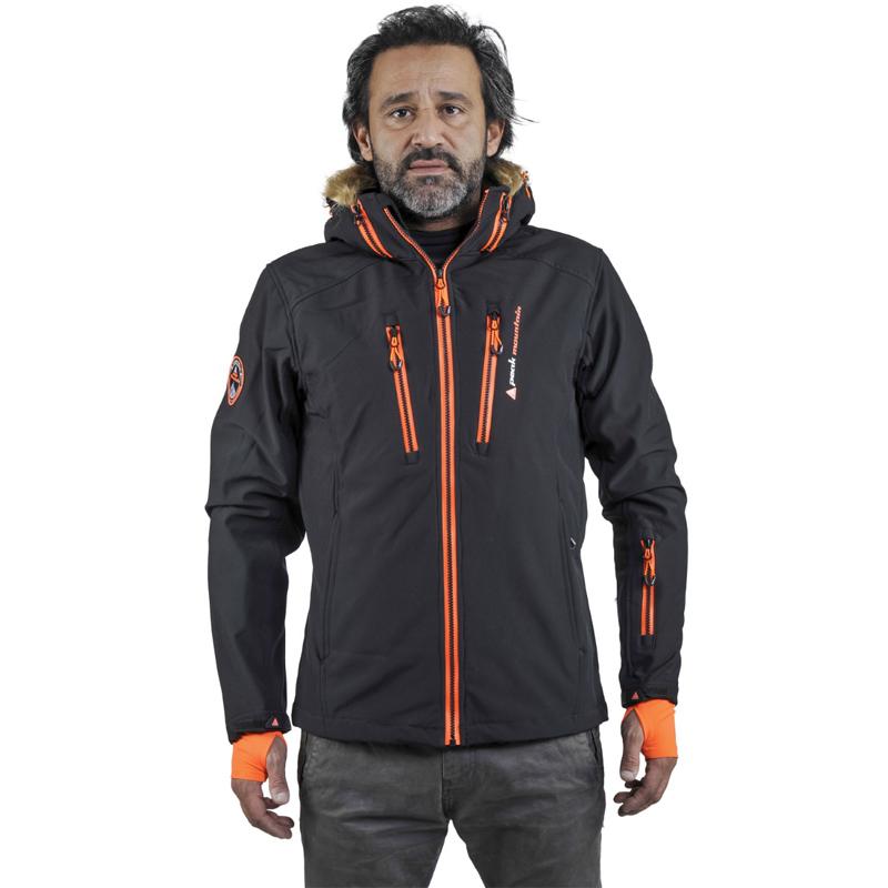 Peak Mountain - Blouson de ski homme CASADA-nero-XL