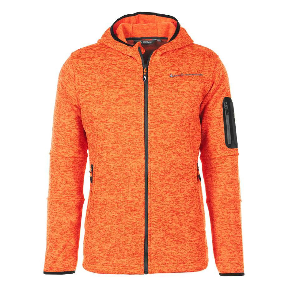 Orange Homme Polaire Camaille Mountain Peak Veste Y61Tqx