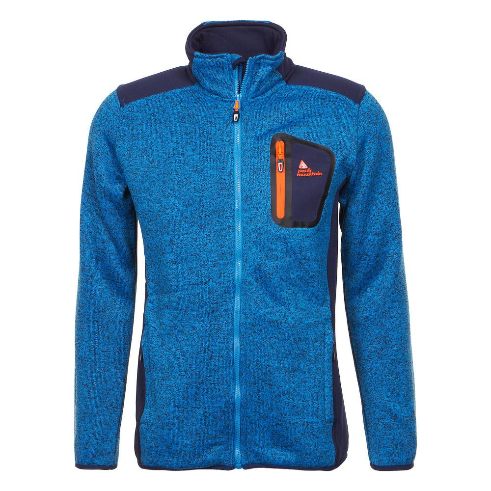 peak mountain blouson polaire homme cenit bleu achat et vente. Black Bedroom Furniture Sets. Home Design Ideas