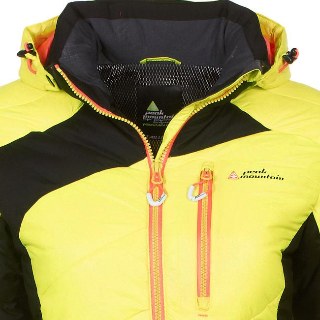 blouson ski femme jaune,veste technique hiver ski ssj 1