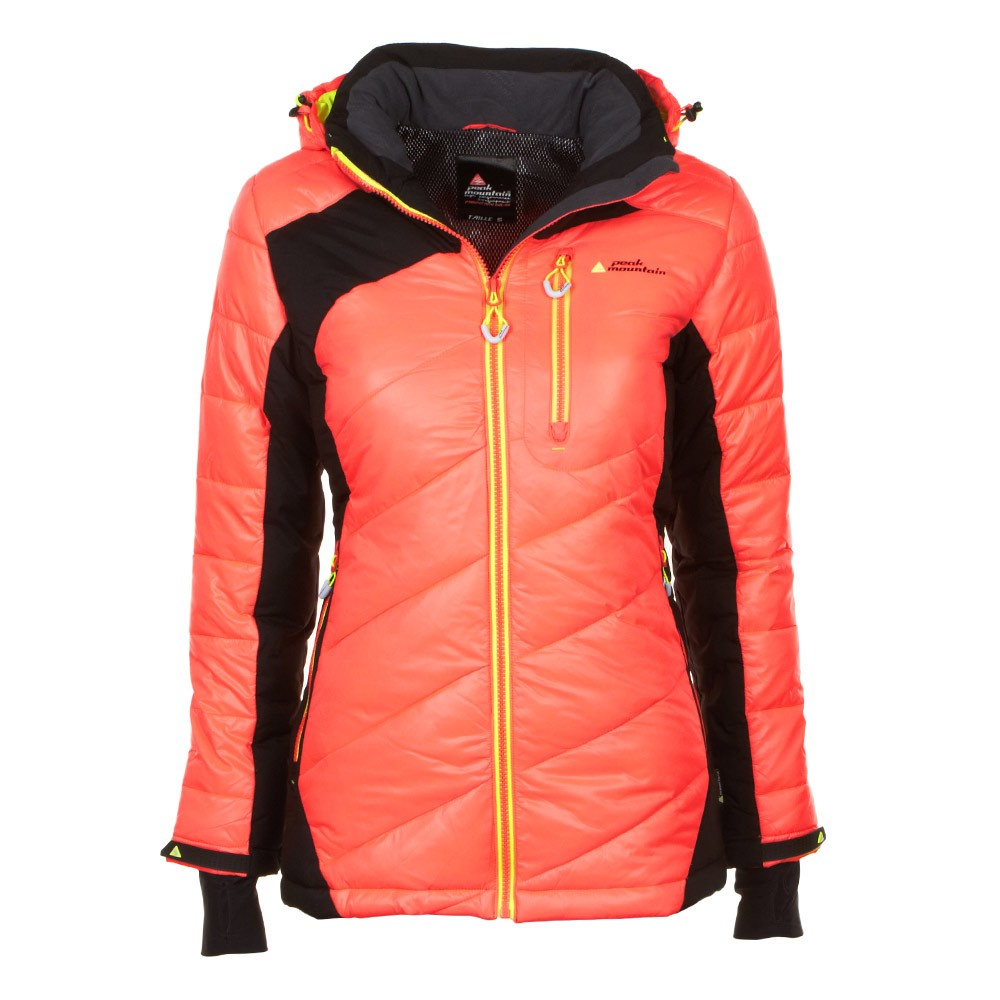 Peak Mountain - Chaqueta mujer ACYBRID-orange