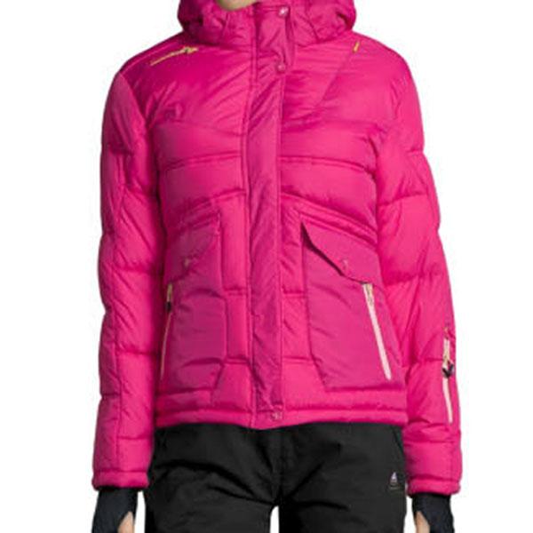 doudoune de ski femme anecy fushia peak mountain. Black Bedroom Furniture Sets. Home Design Ideas