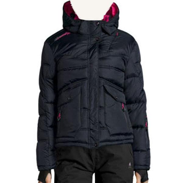doudoune de ski femme anecy noir peak mountain. Black Bedroom Furniture Sets. Home Design Ideas