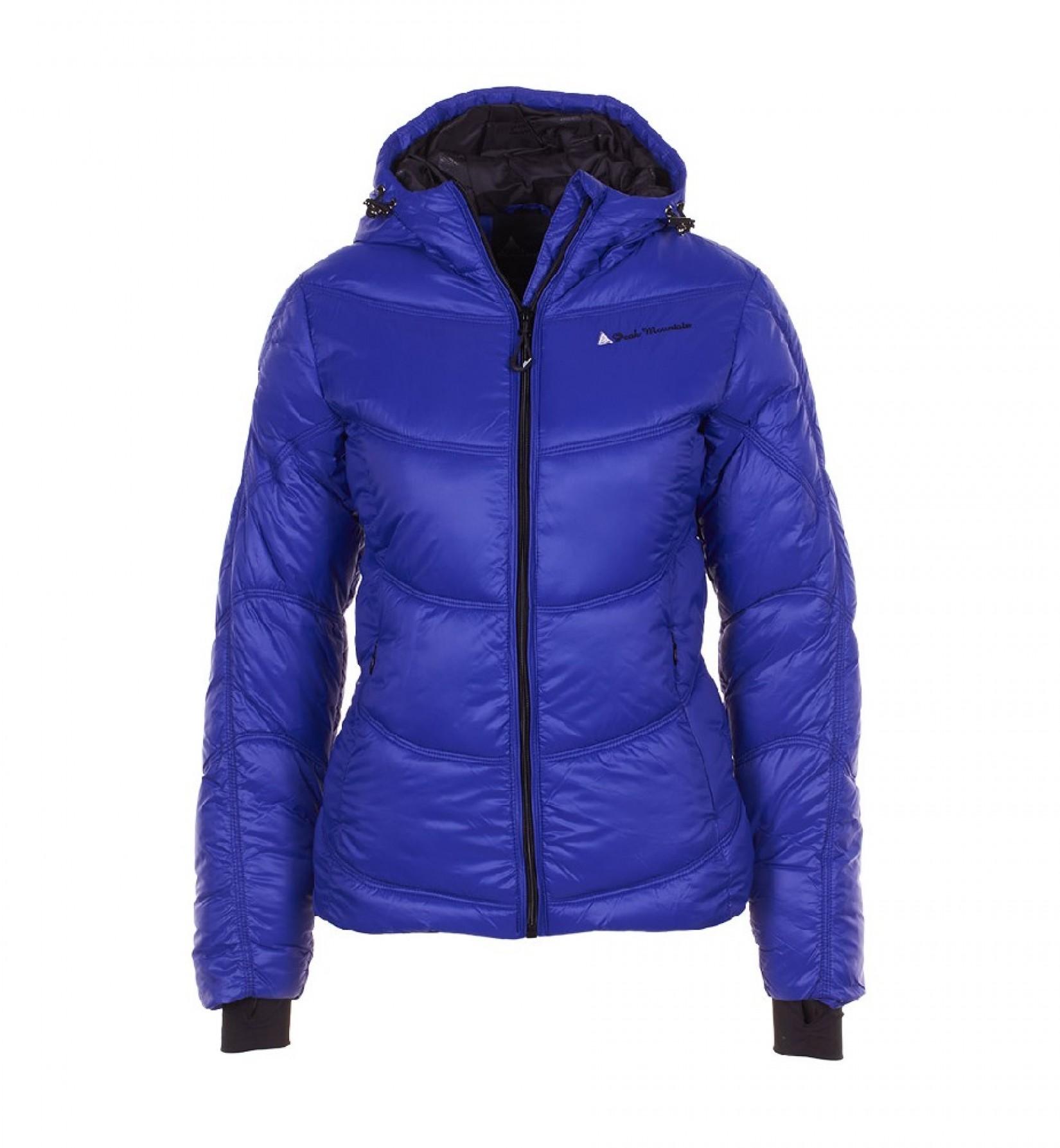 doudoune de ski femme ansei couleur bleu peak mountain. Black Bedroom Furniture Sets. Home Design Ideas