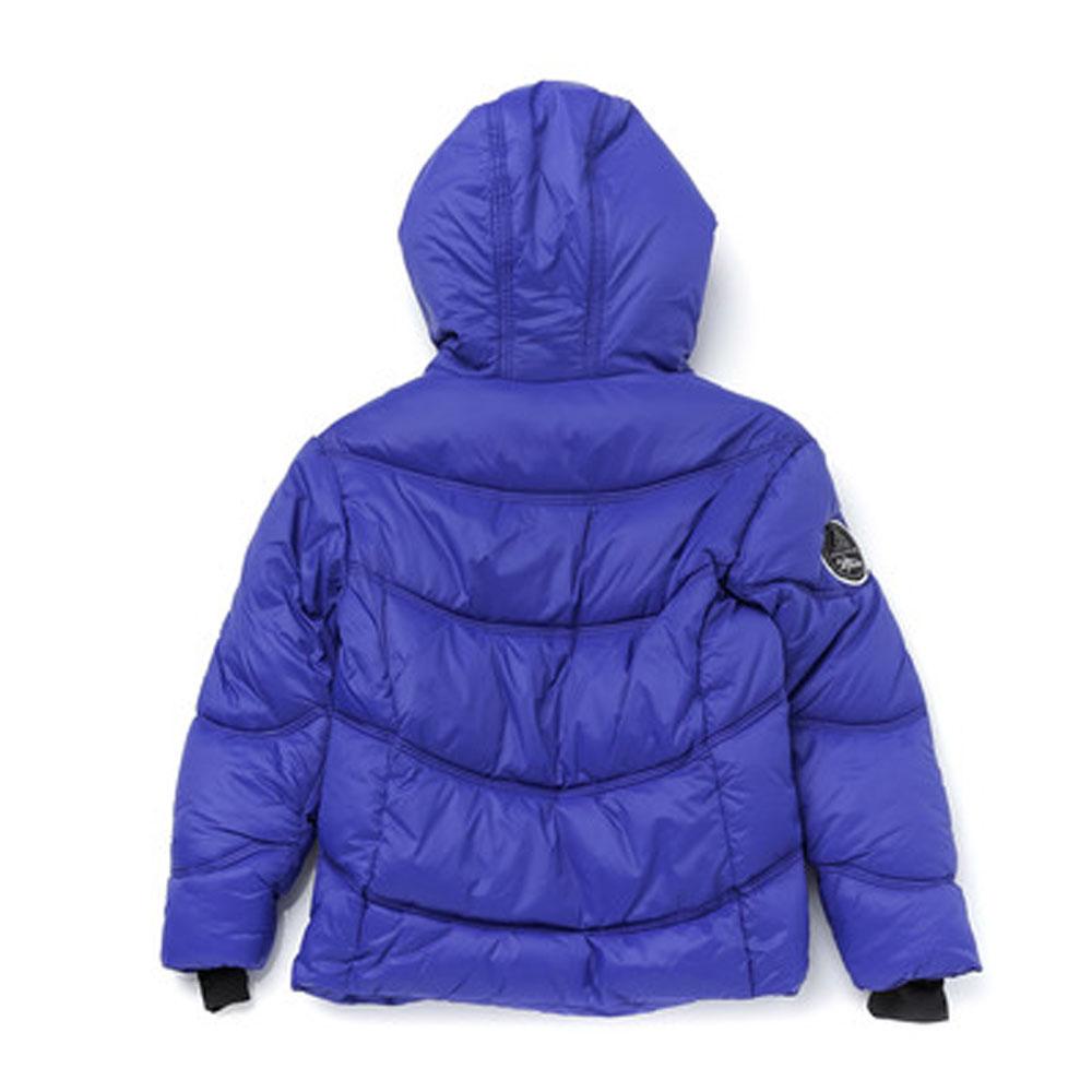 peak mountain doudoune fille 3 8 ans fansei bleu achat et vente. Black Bedroom Furniture Sets. Home Design Ideas
