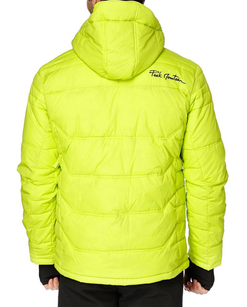 doudoune de ski homme cairop couleur anis peak mountain. Black Bedroom Furniture Sets. Home Design Ideas