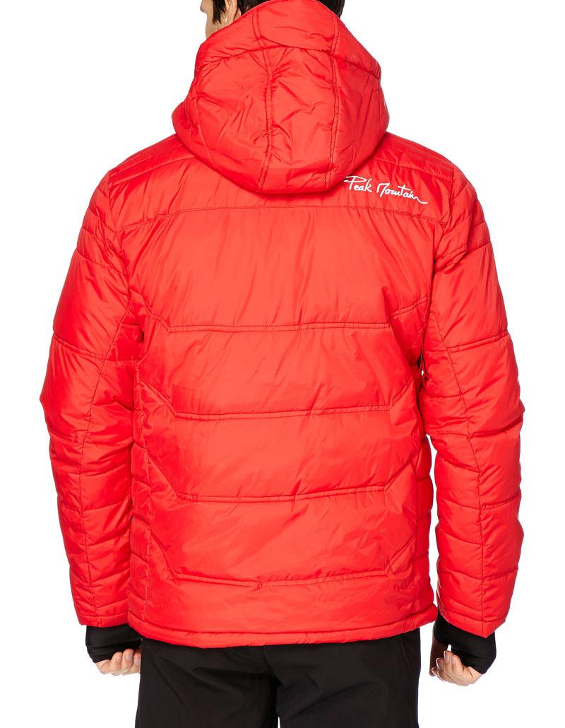 doudoune de ski homme cairop couleur rouge peak mountain. Black Bedroom Furniture Sets. Home Design Ideas