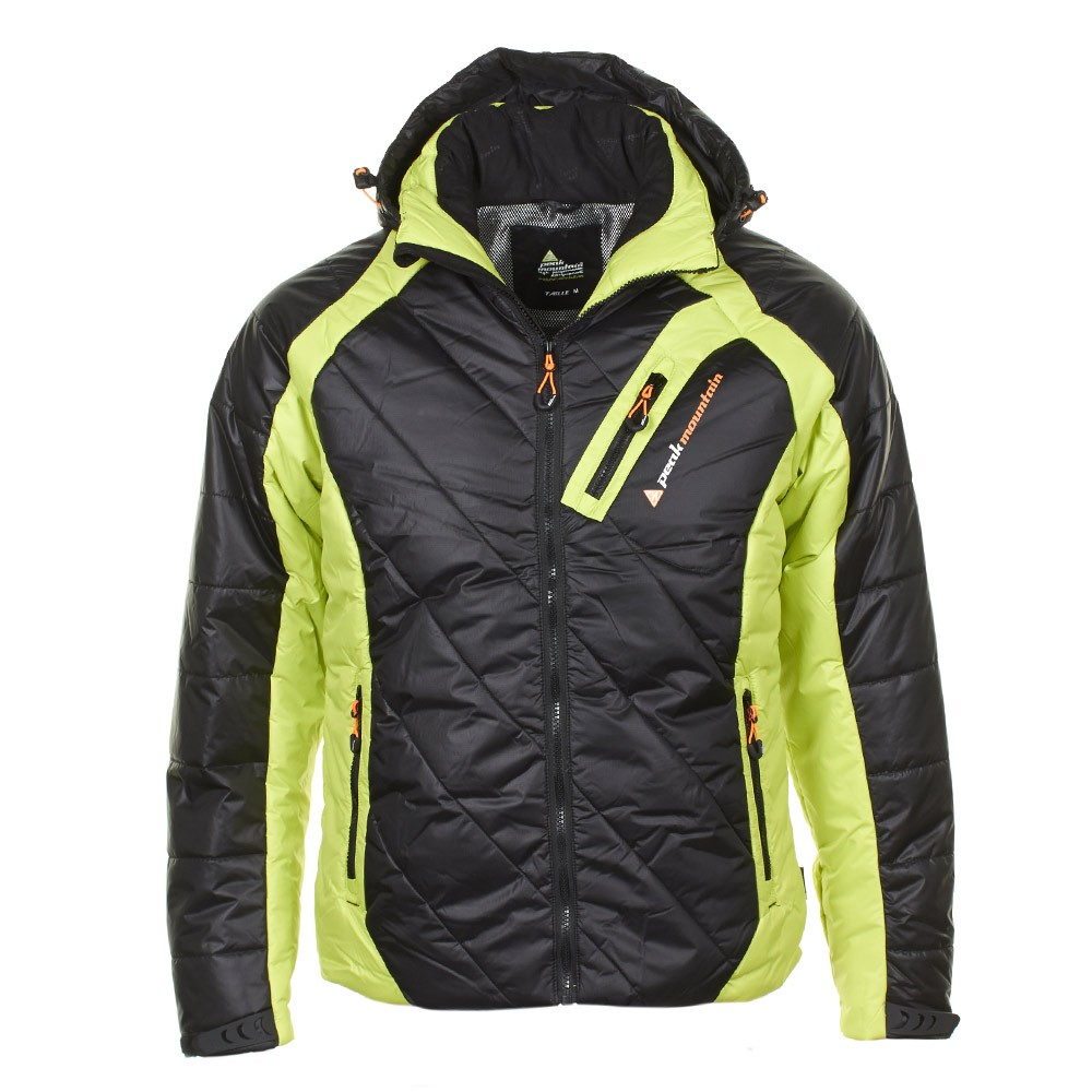 doudoune de ski homme cilorg couleur orange peak mountain. Black Bedroom Furniture Sets. Home Design Ideas