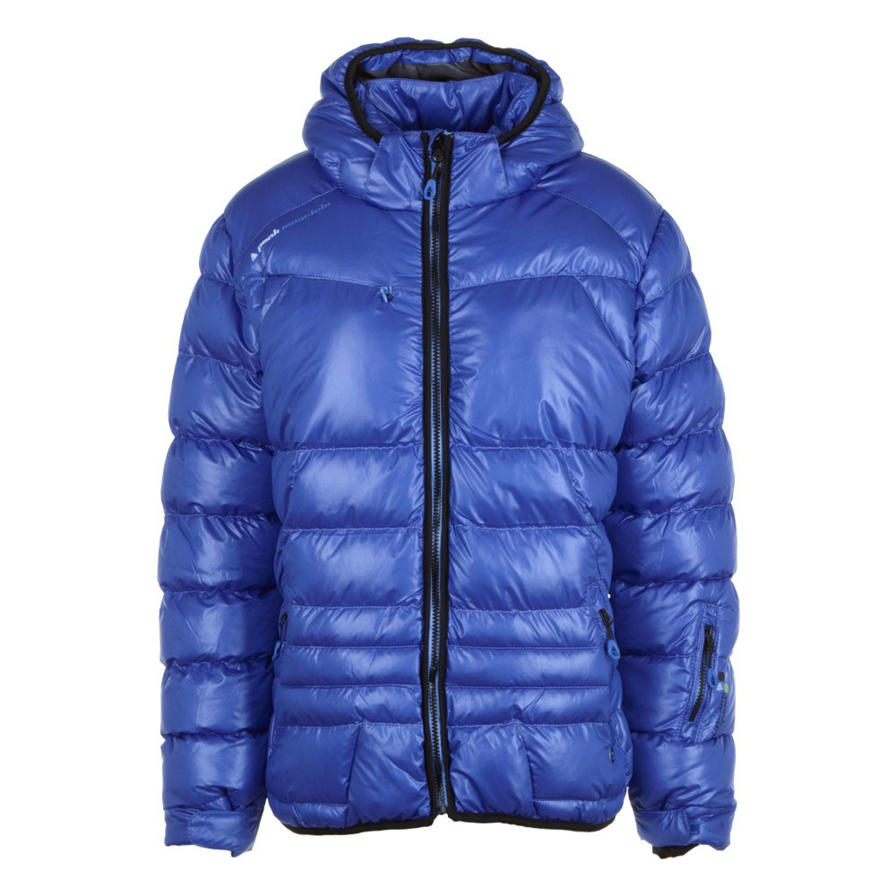 doudoune de ski femme alpine bleue peak mountain. Black Bedroom Furniture Sets. Home Design Ideas