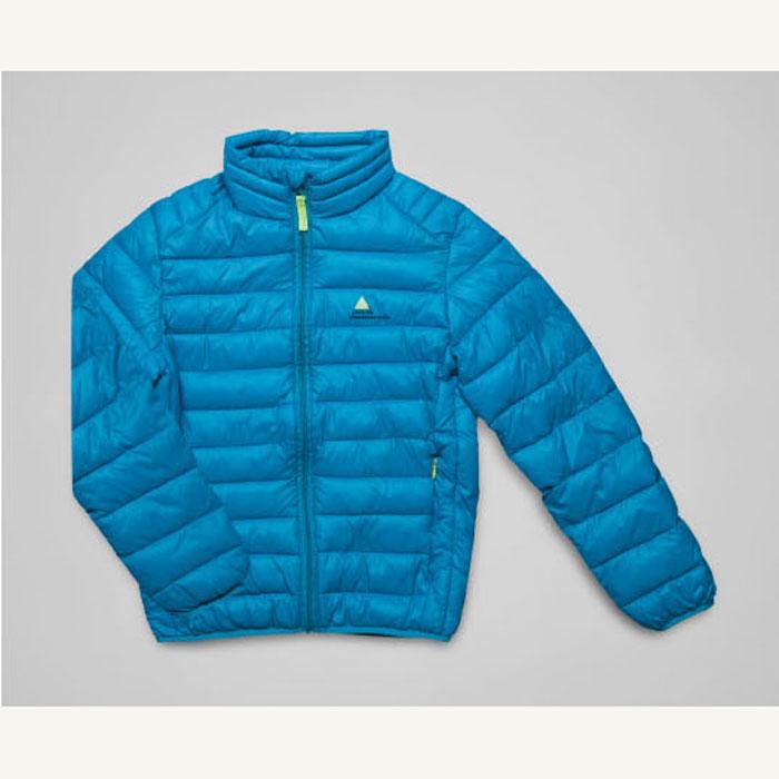 Doudoune garçon turquoise ECEKING- Peak Mountain