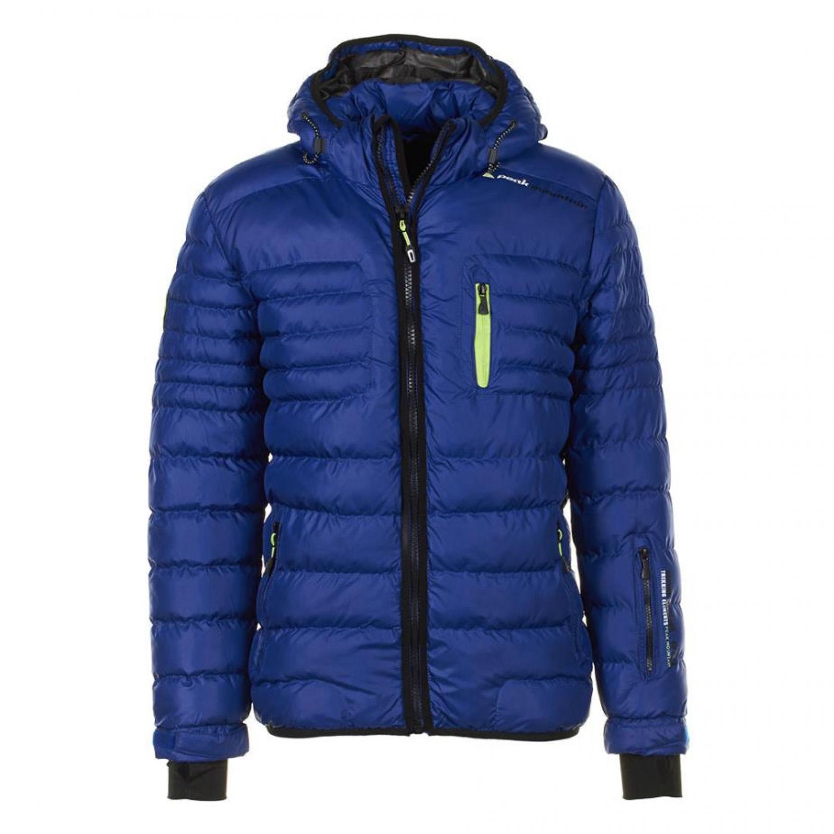 doudoune de ski homme capt couleur bleu peak mountain. Black Bedroom Furniture Sets. Home Design Ideas