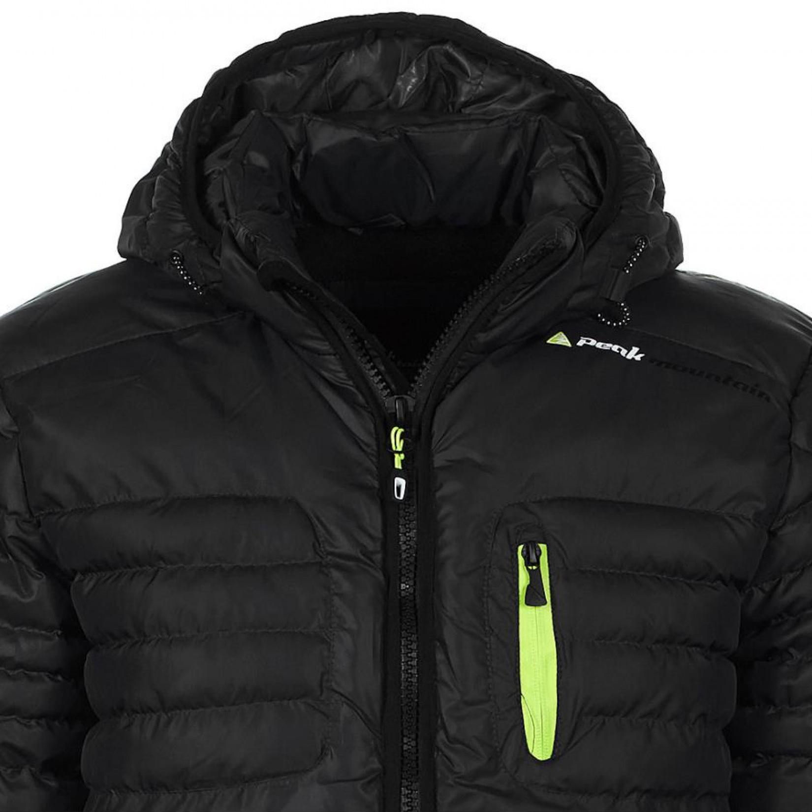 doudoune de ski homme capt couleur noir peak mountain. Black Bedroom Furniture Sets. Home Design Ideas
