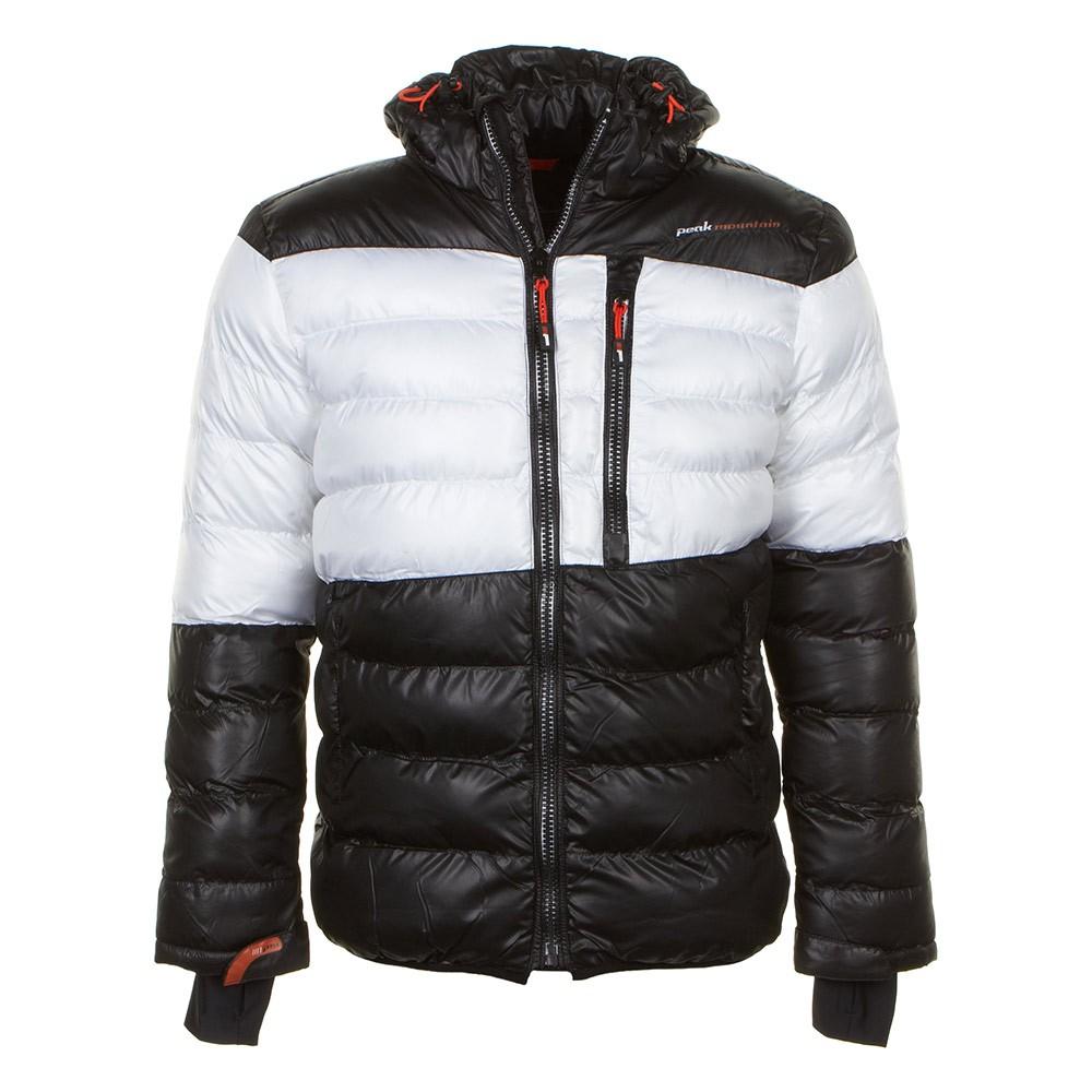 doudoune de ski homme captin couleur blanc peak mountain. Black Bedroom Furniture Sets. Home Design Ideas