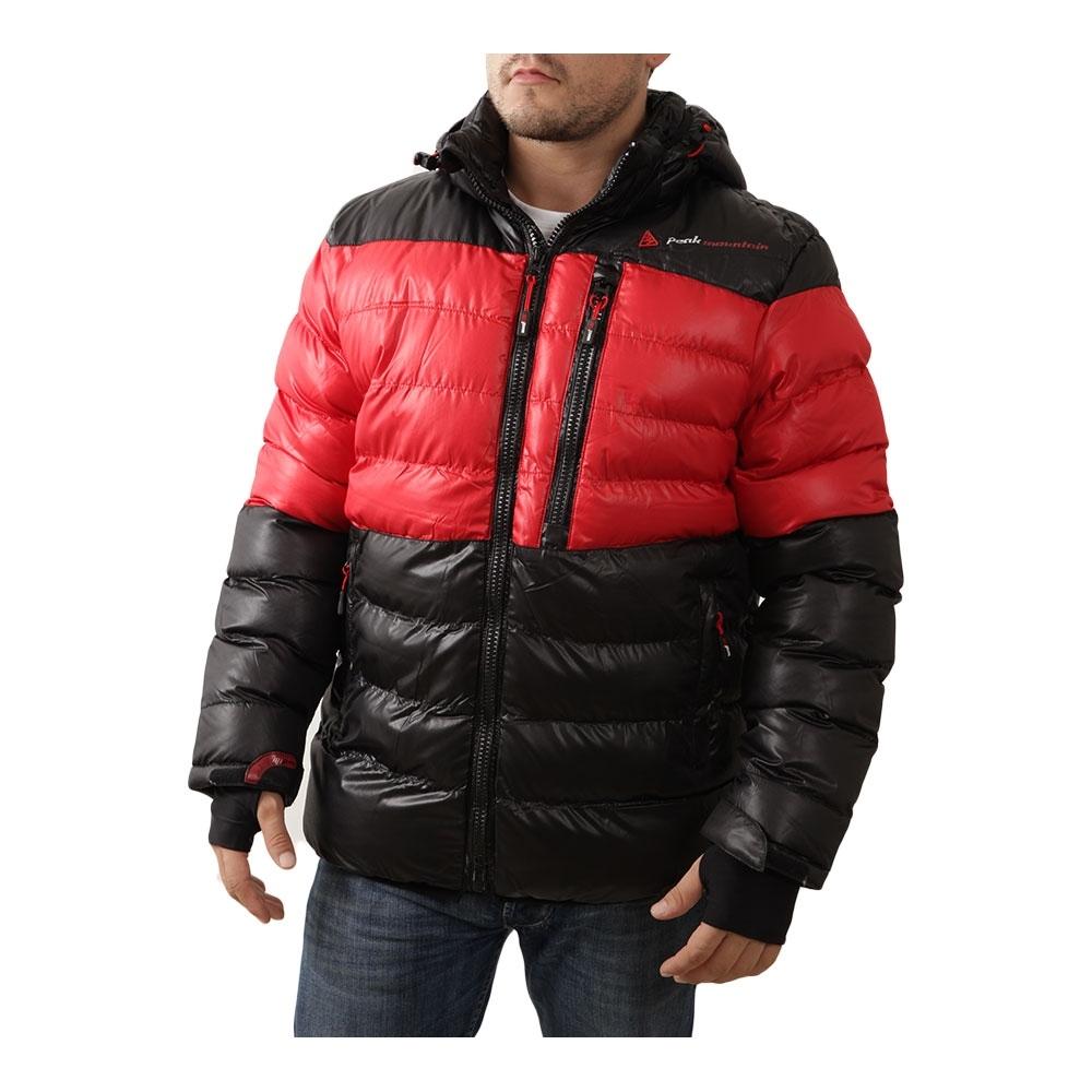 doudoune de ski homme captin couleur rouge peak mountain. Black Bedroom Furniture Sets. Home Design Ideas
