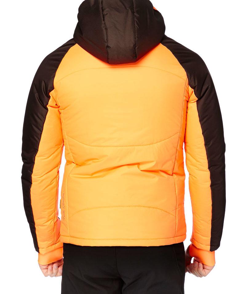 blouson de ski homme cepeak orange marron peak mountain. Black Bedroom Furniture Sets. Home Design Ideas