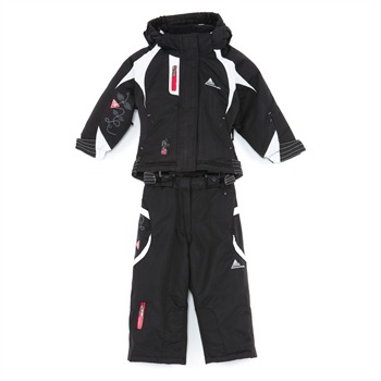 Ensemble de ski fille Peak Mountain FINGO noir