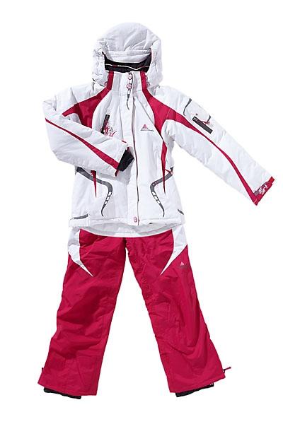 ensemble de ski fille gagyss blanc rose peak mountain. Black Bedroom Furniture Sets. Home Design Ideas