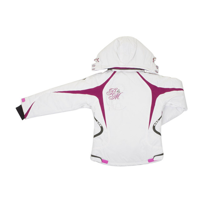 ensemble de ski fille gagyss blanc violet peak mountain. Black Bedroom Furniture Sets. Home Design Ideas