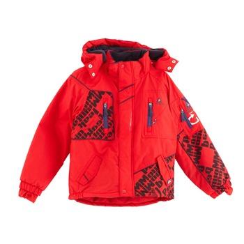ensemble de ski gar on eslalom rouge noir peak mountain. Black Bedroom Furniture Sets. Home Design Ideas