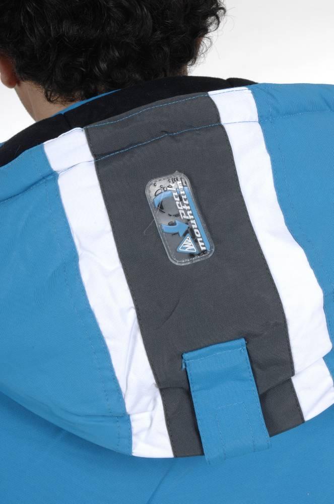 ensemble de ski homme peak mountain cespionx bleu gris. Black Bedroom Furniture Sets. Home Design Ideas