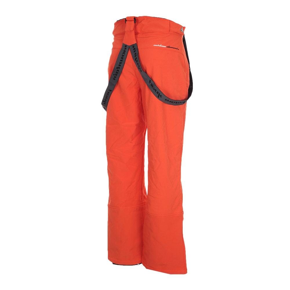 pantalon de ski homme cafell en soft shell orange peak. Black Bedroom Furniture Sets. Home Design Ideas