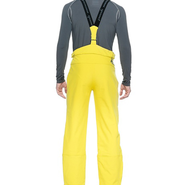 pantalon de ski homme cashell en soft shell jaune peak mountain. Black Bedroom Furniture Sets. Home Design Ideas