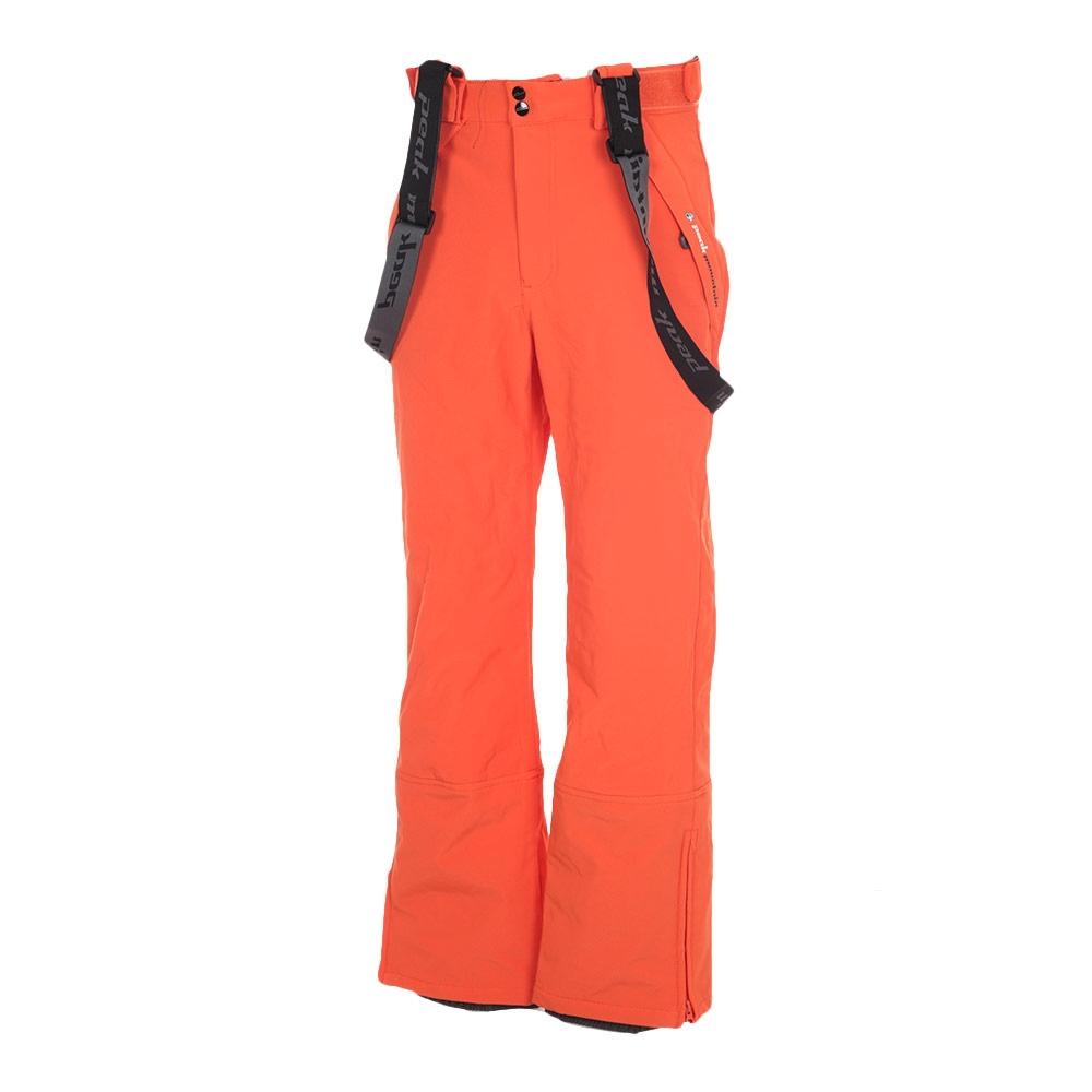 peak mountain pantalon de ski homme cafell orange. Black Bedroom Furniture Sets. Home Design Ideas