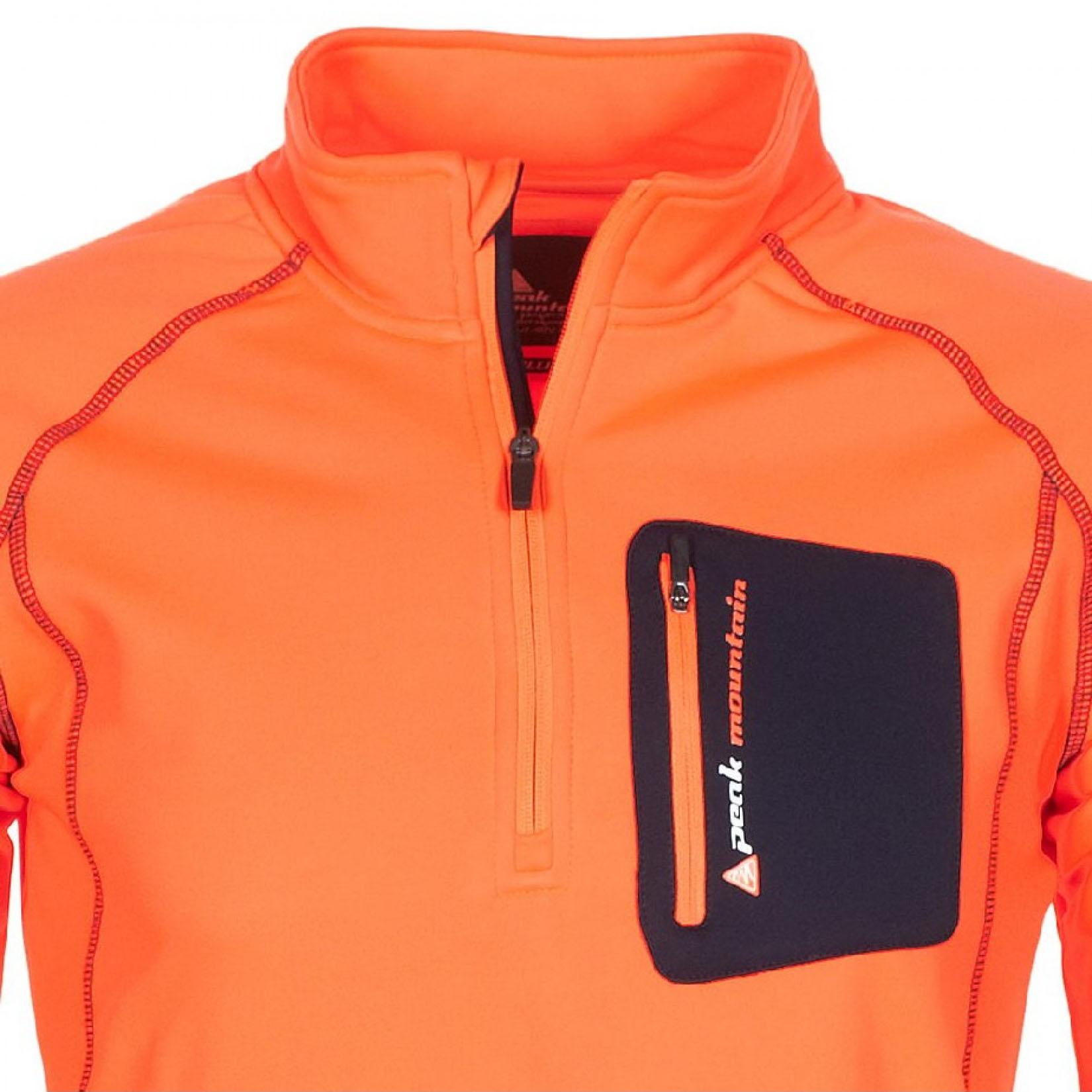 sweat polaire homme cerun orange peak mountain. Black Bedroom Furniture Sets. Home Design Ideas