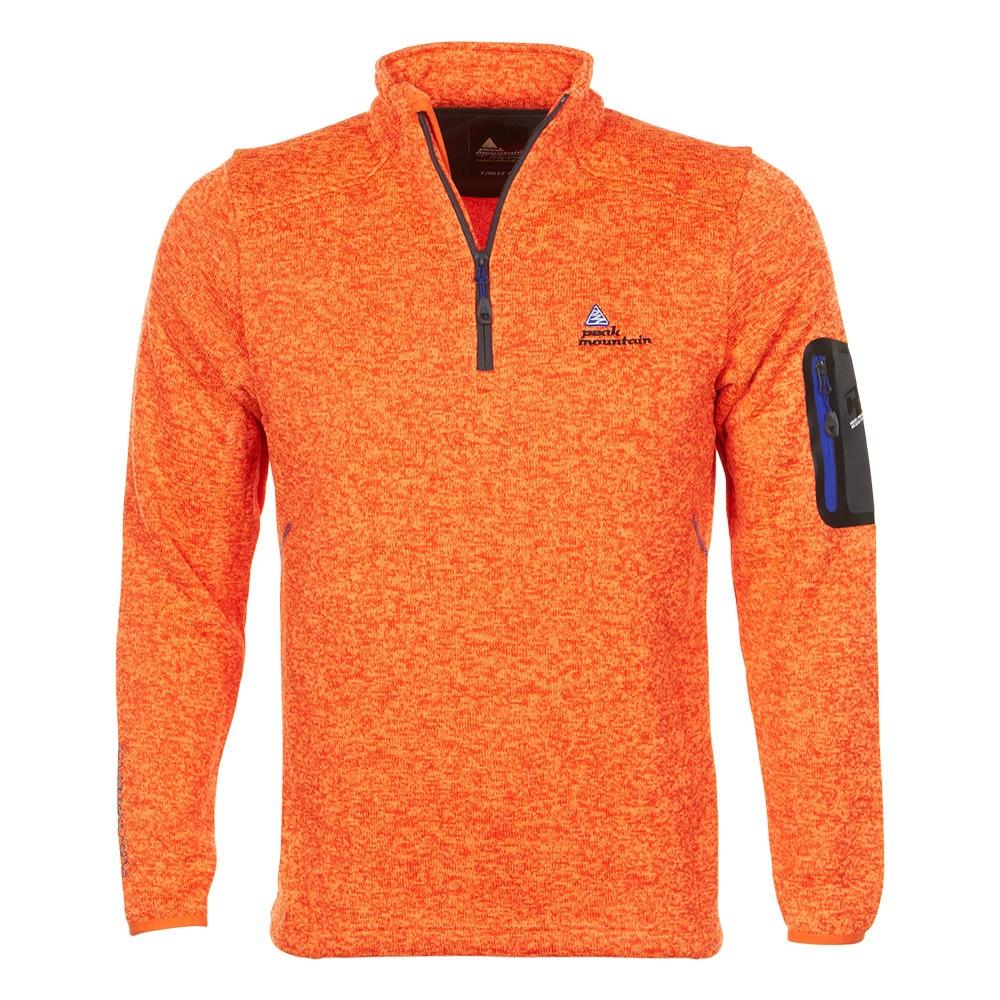 sweat polaire homme cypa orange peak mountain. Black Bedroom Furniture Sets. Home Design Ideas