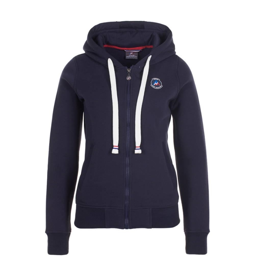 performance sportswear new product performance sportswear Sweat zippé à capuche femme APILOT marine