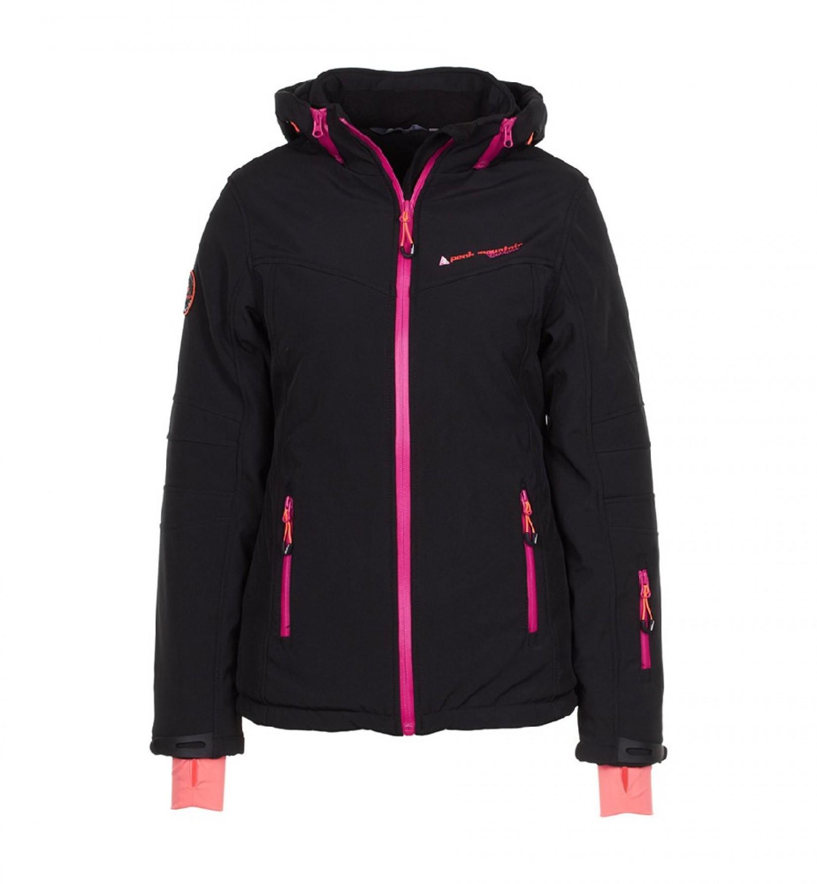Veste de ski femme peak mountain AMALI noir 3498f9cee56c