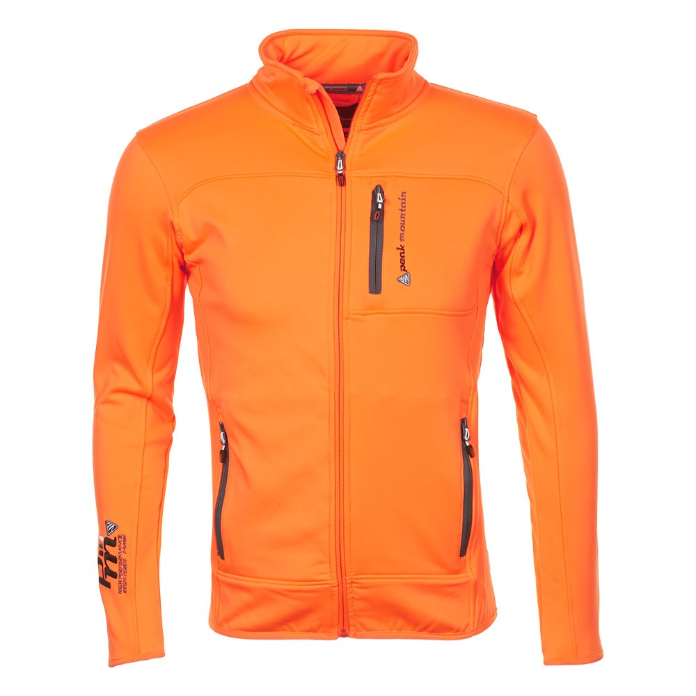 Blouson Canton Homme Mountain Orange Polarshell Peak H7R1wvq