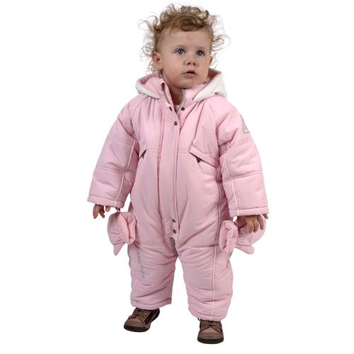 revendeur 3be96 8c67b Combinaison bébé fille BAFIE rose