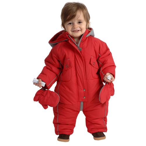 bas prix 03d12 9994e Combinaison de ski bébé garçon LAPS rouge