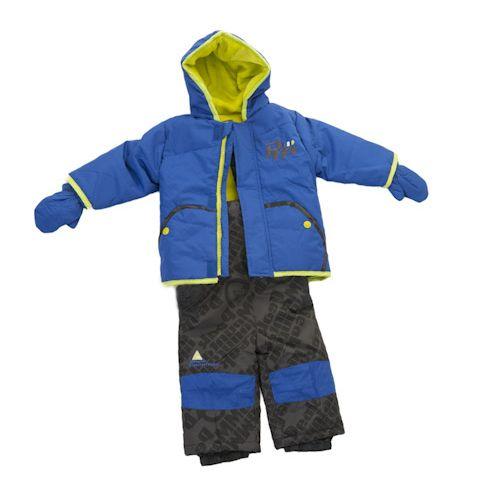 60ce0d2561a07 Ensemble de ski bébé garçon LIMA bleu/noir-Peak Mountain