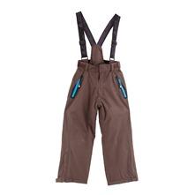 1739442f52c53 Pantalon de ski garçon Peak Mountain EDAL marron